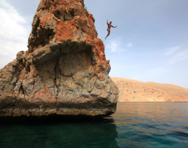 Rock_Jumping_Six Senses Zighy Bay_Oman_mellemøsten