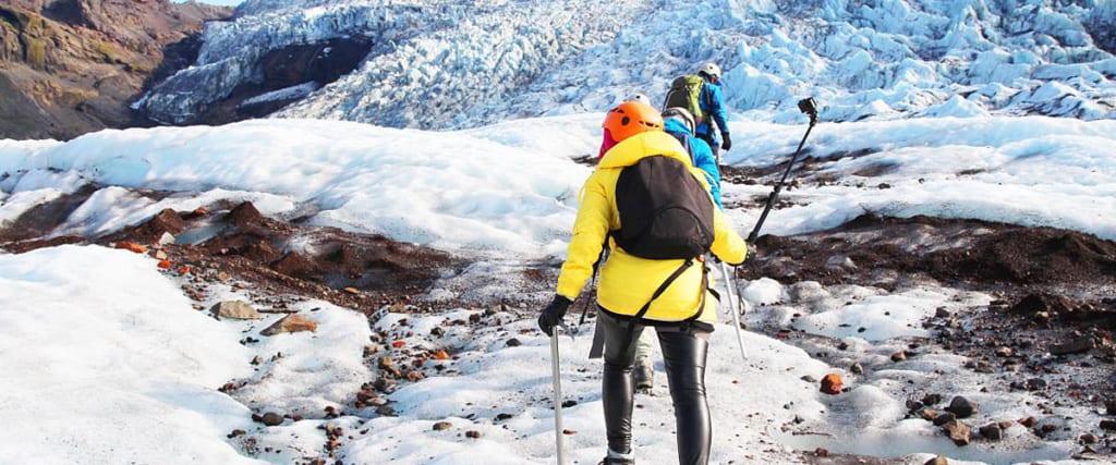 Glacier hike på Island